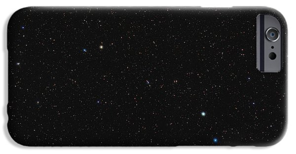 Constellations iPhone Cases - North Celestial Pole iPhone Case by Eckhard Slawik