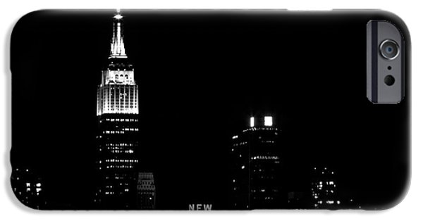 Empire State iPhone Cases - NYC Skyline iPhone Case by MingTa Li
