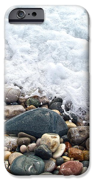 ocean stones iPhone Case by Stylianos Kleanthous