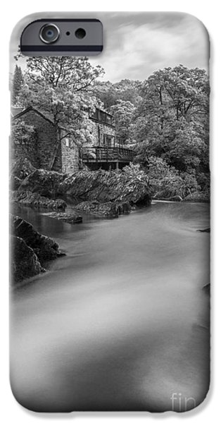 River View iPhone Cases - Peaceful Waters iPhone Case by Ian Mitchell