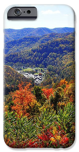 Point Mountain Overlook iPhone Case by Thomas R Fletcher