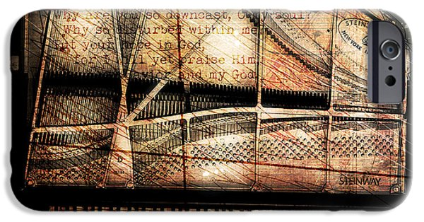 Piano Digital Art iPhone Cases - Prelude To Dawn iPhone Case by Gary Bodnar