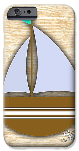 Recently Sold -  - Sea iPhone Cases - Sailing Collection iPhone Case by Marvin Blaine