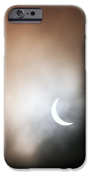 Solar Phenomena iPhone Cases - Solar Eclipse iPhone Case by Grant Glendinning