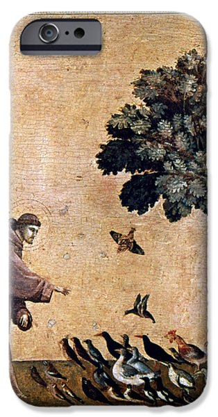 Renaissance Paintings iPhone Cases - St. Francis Of Assisi iPhone Case by Granger