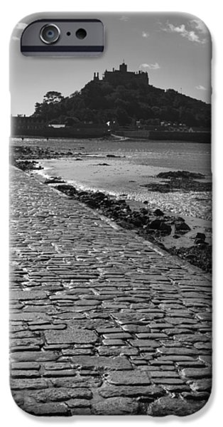 Cathedral Rock iPhone Cases - St Michaels Mount iPhone Case by Chris Smith