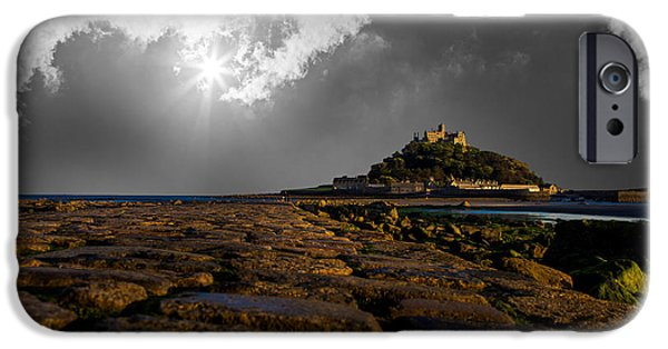 Michael iPhone Cases - St Michaels Mount iPhone Case by Martin Newman