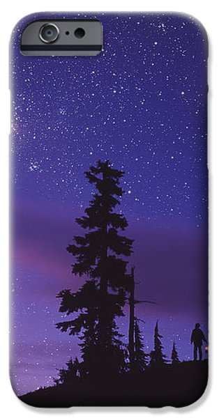 Starry Sky iPhone Case by David Nunuk