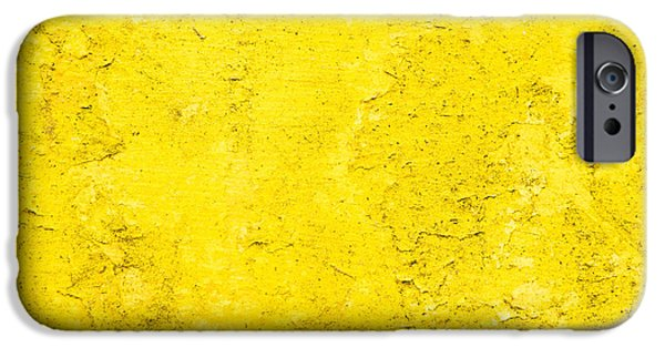 Torn iPhone Cases - Stone texture iPhone Case by Tom Gowanlock