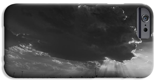 Approaching Storm iPhone Cases - Storm Clouds  iPhone Case by Mountain Dreams