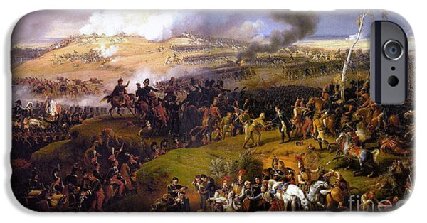 Bloody Battle iPhone Cases - The Battle of Borodino  iPhone Case by Celestial Images