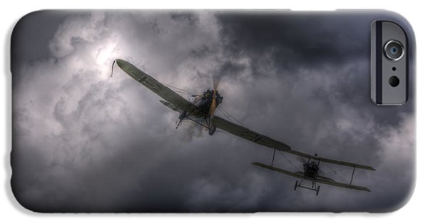 Ww1 iPhone Cases - The Great War Display Team iPhone Case by Nigel Bangert