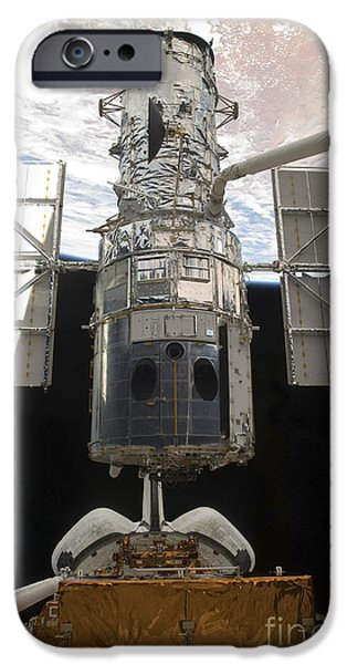 The Hubble Space Telescope Is Released iPhone Case by Stocktrek Images