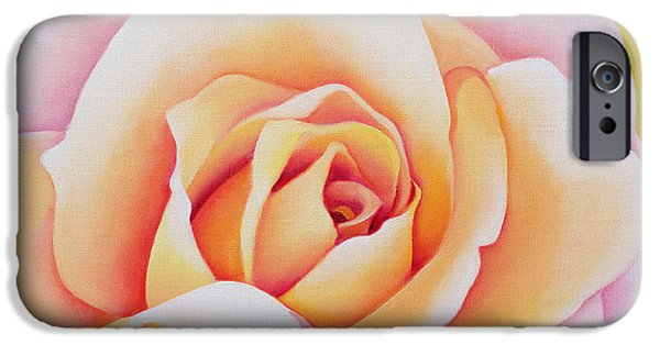 Floral iPhone Cases - The Rose iPhone Case by Myung-Bo Sim