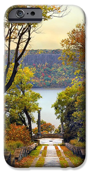 Hudson River Digital iPhone Cases - The Vista Steps iPhone Case by Jessica Jenney