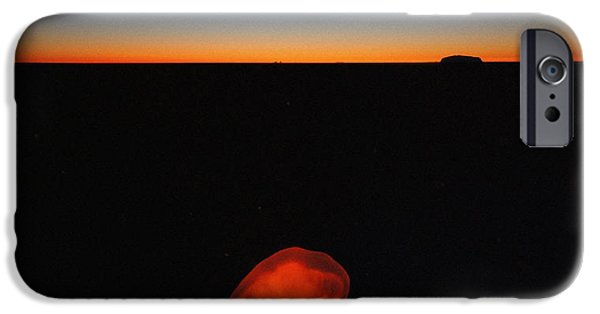 Business Paintings iPhone Cases - To Moon and Back iPhone Case by Celestial Images