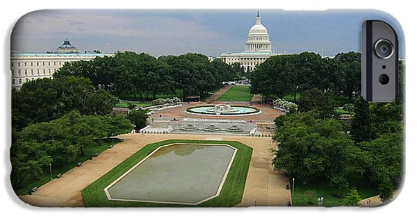 United iPhone Cases - United States Capitol iPhone Case by Michael French