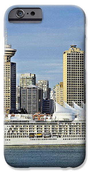 Vancouver skyline iPhone Case by John Greim