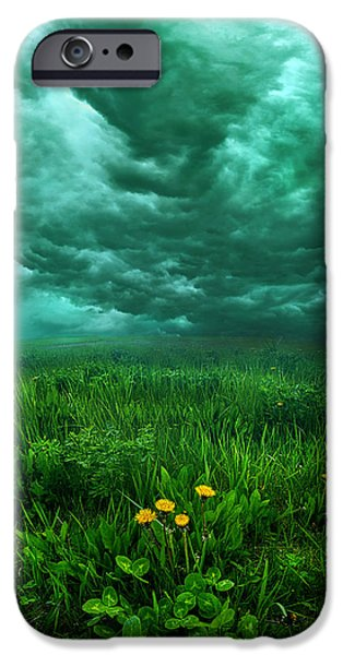 Storm iPhone Cases - Waiting iPhone Case by Phil Koch