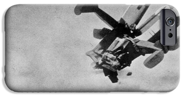1910s iPhone Cases - World War I: Aerial Combat iPhone Case by Granger