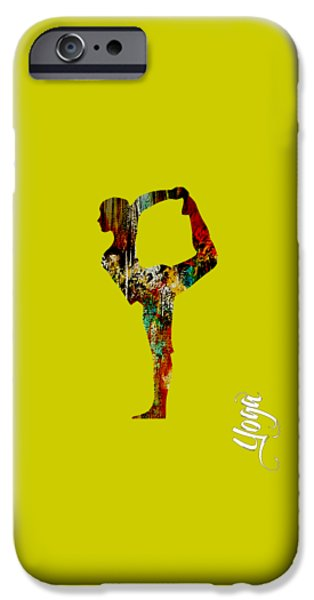 Spiritual iPhone Cases - Yoga Collection iPhone Case by Marvin Blaine