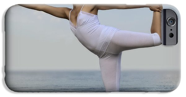 Straps iPhone Cases - Yoga iPhone Case by Joana Kruse