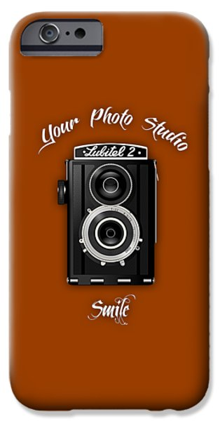Camera iPhone Cases - Your Photo Studio Collection iPhone Case by Marvin Blaine