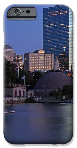 City. Boston iPhone Cases - 200 Clarendon iPhone Case by Juergen Roth