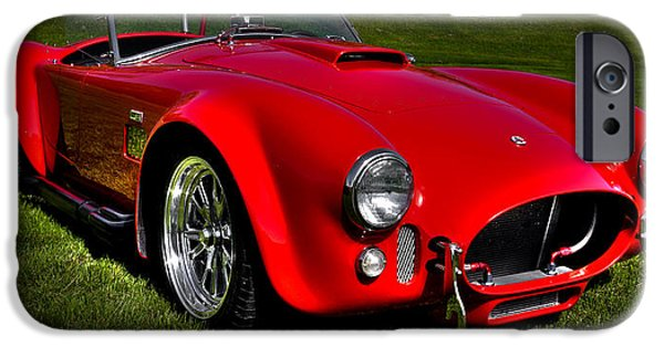 Automotive iPhone Cases - 2003 Shelby Cobra Superformance MKIII iPhone Case by David Patterson