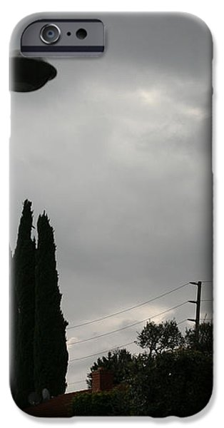 2004 real ufo evidence iPhone Case by Michael Ledray