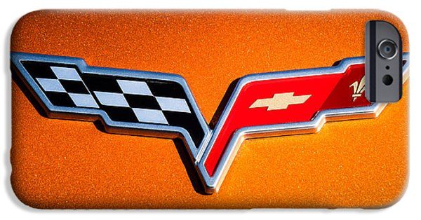 2007 iPhone Cases - 2007 Chevrolet Corvette Indy Pace Car -0301c iPhone Case by Jill Reger