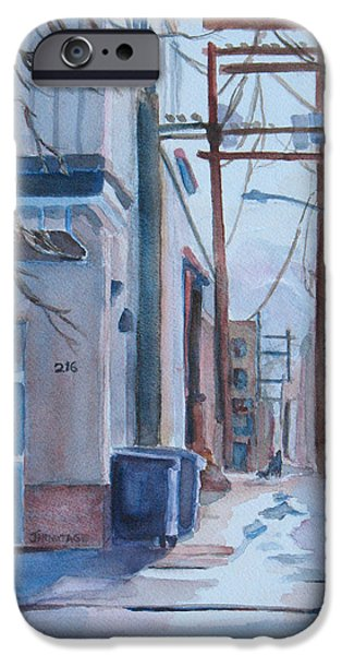 Small Towns iPhone Cases - 216 iPhone Case by Jenny Armitage
