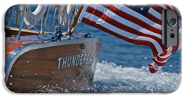 Boat iPhone Cases - Thunderbird iPhone Case by Steven Lapkin