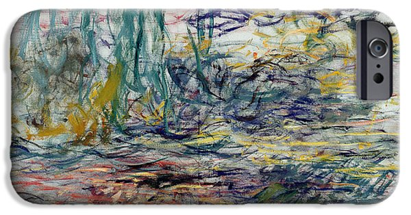 Loose Style iPhone Cases - Waterlilies iPhone Case by Claude Monet
