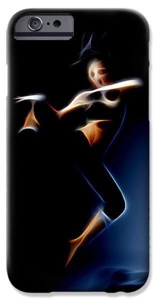 Ballet Dancers iPhone Cases - Dance Belly iPhone Case by Michael Vicin