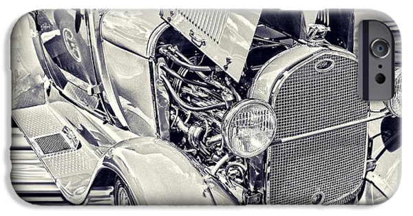 Board iPhone Cases - 29 Ford Truck iPhone Case by Steven Parker