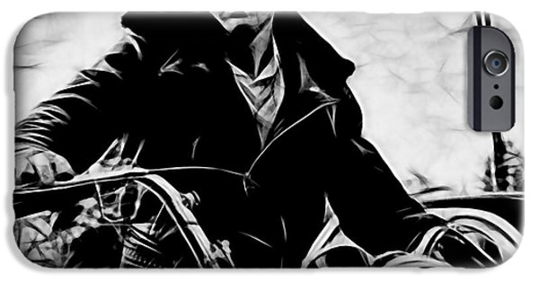 Collector iPhone Cases - James Dean Collection iPhone Case by Marvin Blaine
