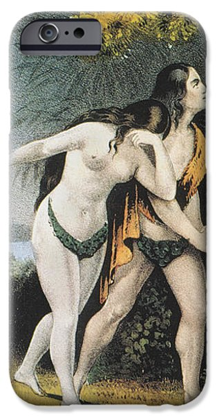 ADAM AND EVE iPhone Case by Granger