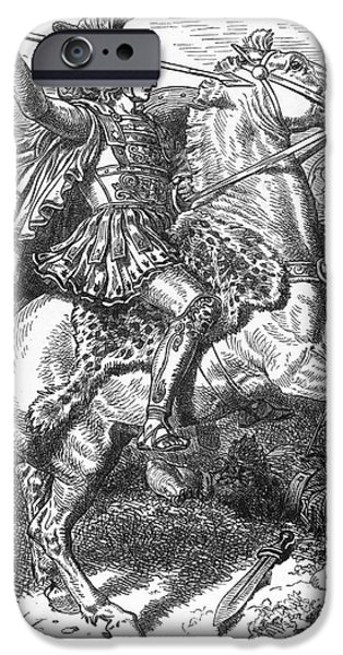 4th Photographs iPhone Cases - Alexander The Great iPhone Case by Granger
