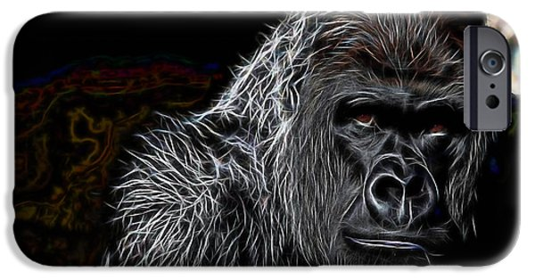 Animals iPhone Cases - Ape Collection iPhone Case by Marvin Blaine