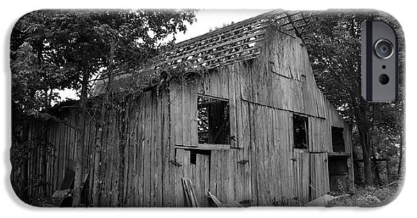 Old Barns iPhone Cases - Barn in Kentucky no 69 iPhone Case by Dwight Cook