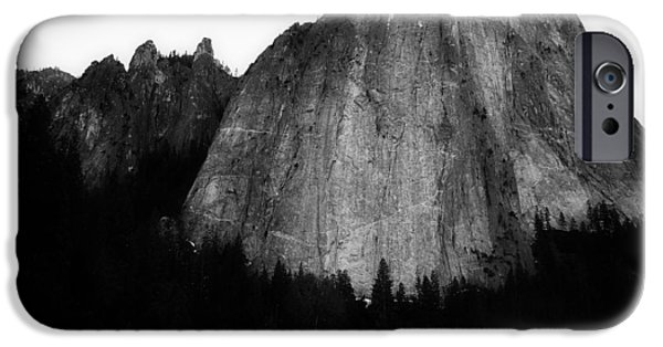 Meadow Photographs iPhone Cases - Beneath El Capitan iPhone Case by Unsplash