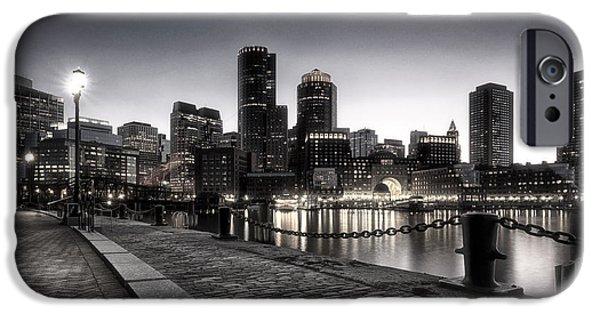 City. Boston iPhone Cases - Boston iPhone Case by Robert Fawcett