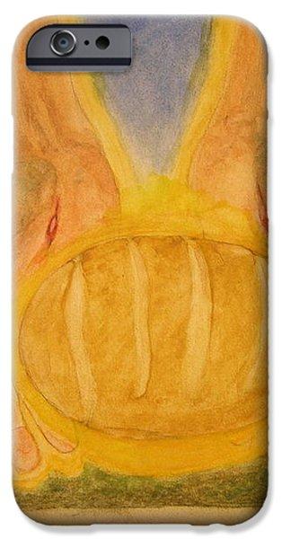 Bread From Heaven iPhone Case by Nigel Wynter