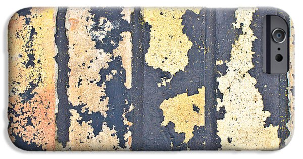Torn iPhone Cases - Bricks iPhone Case by Tom Gowanlock