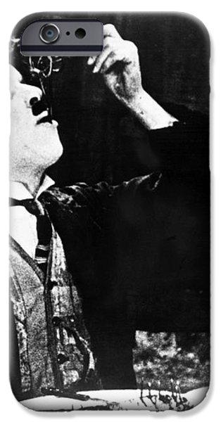 CHAPLIN: GOLD RUSH. 1925 iPhone Case by Granger