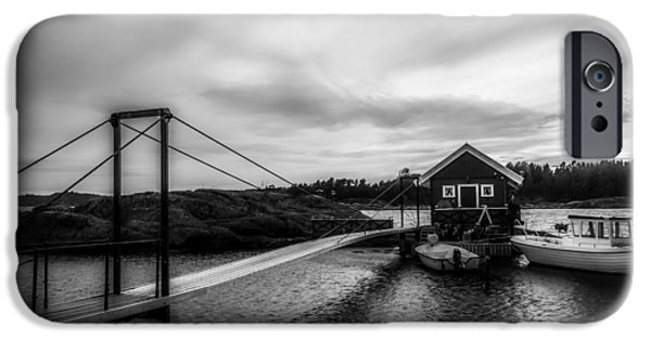 Norway iPhone Cases - Early Morning At The Dock - Norway iPhone Case by Nicolai Berntsen