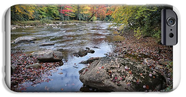 West Fork iPhone Cases - Intimate Autumn Series iPhone Case by Steve Payne