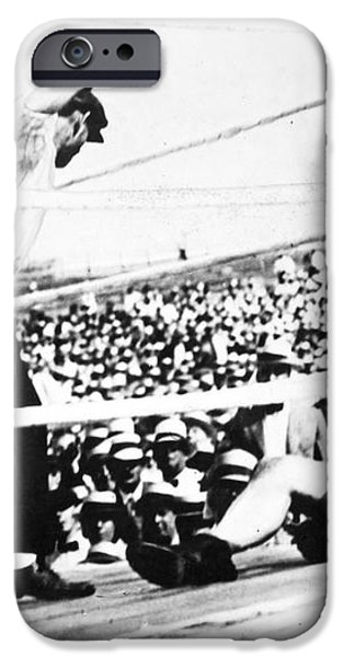 JACK DEMPSEY (1895-1983) iPhone Case by Granger