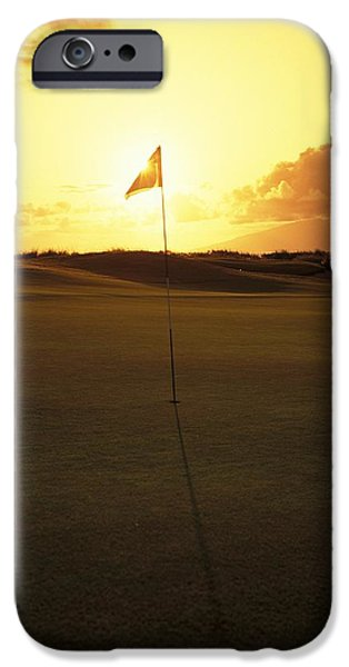 4th Photographs iPhone Cases - Kapalua Golf Club iPhone Case by Carl Shaneff - Printscapes